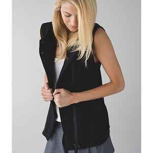 Lululemon 'Versa' Fleece Lined Jersey Vest